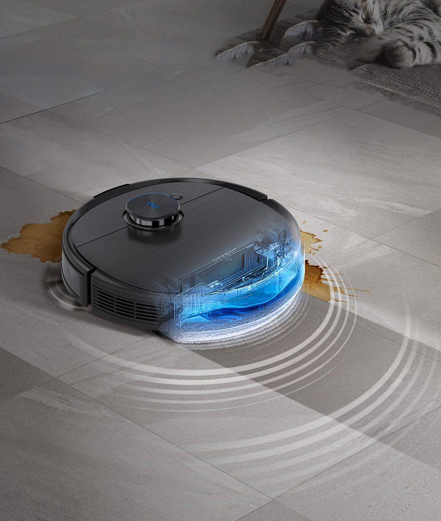 Thiết kế đặt trưng của Ecovacs Deebot T9 AIVI